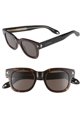 Men's Givenchy 7037/s 47Mm Sunglasses - Havana Black Cry