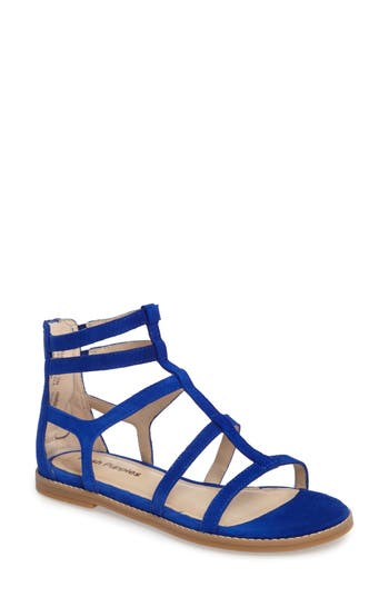 Hush Puppies Abney Chrissie Cage Sandal, Blue