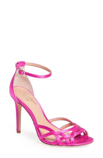 Jewel Badgley Mischka Haskell Ii Strappy Sandal, Pink