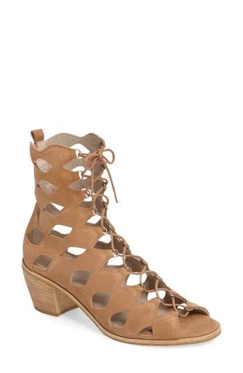 Matisse Jester Lace-Up Sandal- Beige