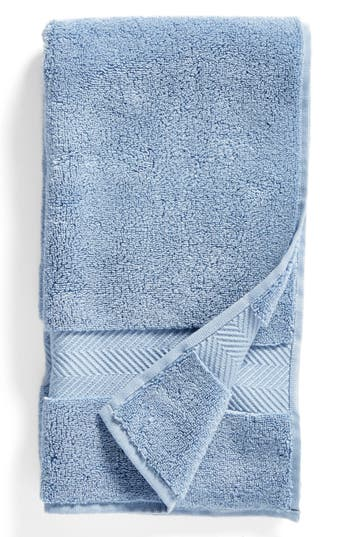 Nordstrom At Home Hydrocotton Hand Towel, Size One Size - Blue