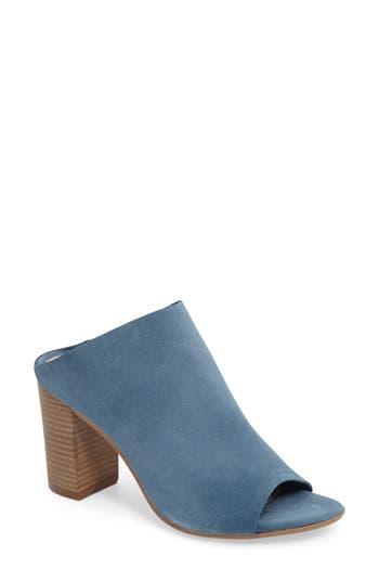 Women's Bos. & Co. Isabella Block Heel Mule, Size 7.5-8US / 38EU - Blue