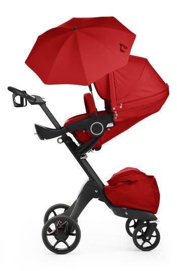 Infant Stokke Xplory True Black Stroller Size One Size  Red