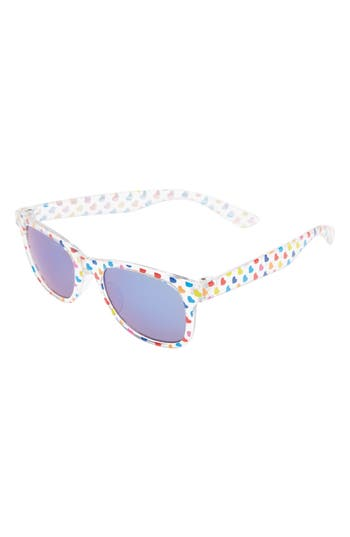 Girl's Icon Eyewear Rainbow Heart Sunglasses -