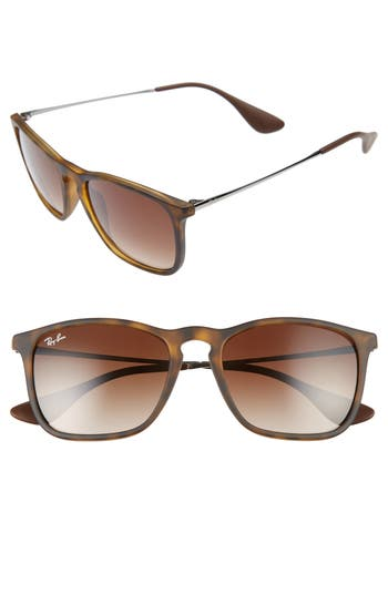 Ray-Ban Chris 5m Gradient Lens Sunglasses - Gradient Brown