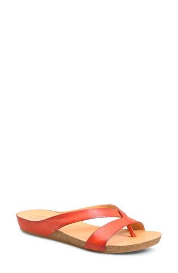 Kork-Ease Devoe Sandal, Red