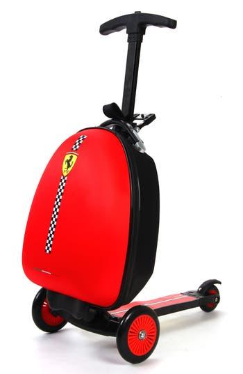 Infant Ferrari Scooter Trolley Case