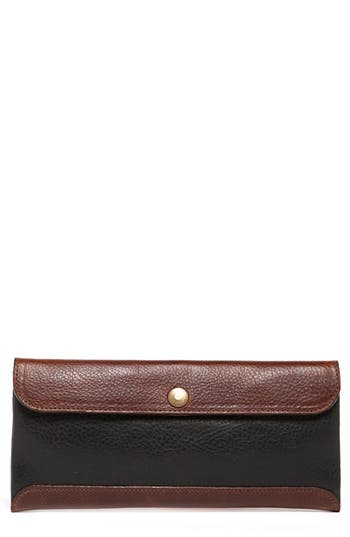 Moore & Giles Smith Leather Travel Envelope - Black