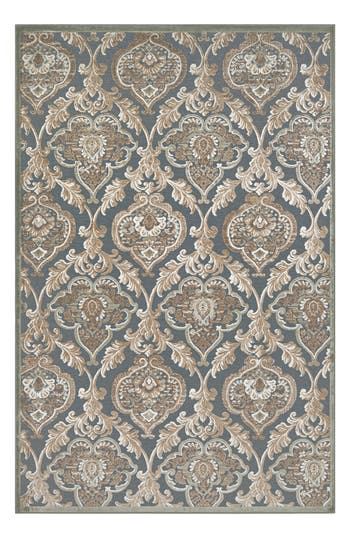 Couristan Renaissance Area Rug, ft 1in x 3ft 7in - Black