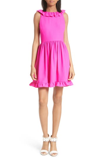 Kate Spade New York Ruffle Back Minidress, Pink