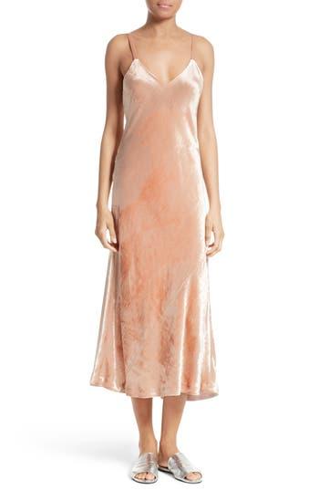 A.l.c. Annex Velvet Slipdress, Pink