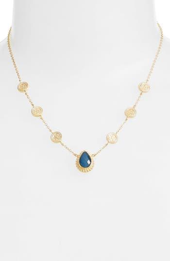 Women's Anna Beck Blue Quartz Reversible Collar Necklace