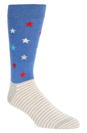 Men's Happy Socks Stripes & Stars Socks