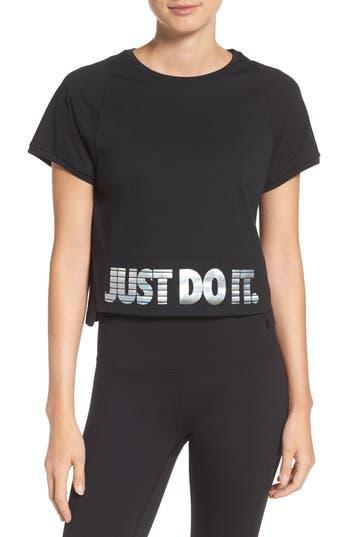 Women's Nike Sportswear Hologram Crop Tee