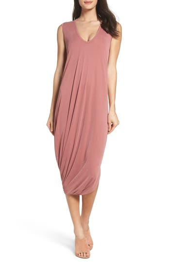 Bcbgmaxazria Ruched Midi Dress