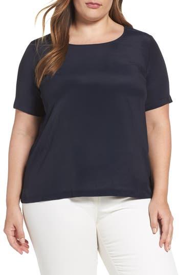 Plus Size Women's Persona By Marina Rinaldi Bambino Crepe Top