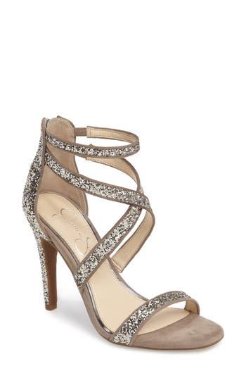 Jessica Simpson Ellenie Sandal, Metallic