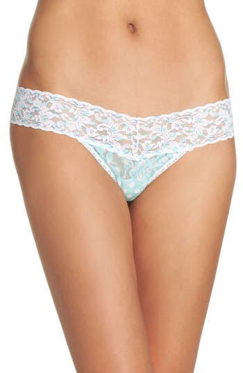 Women's Hanky Panky Print Low Rise Thong