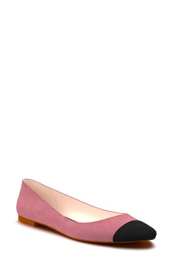 Shoes Of Prey Ballet Flat - Red