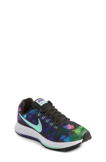 Girl's Nike Zoom Pegasus 34 Print Sneaker