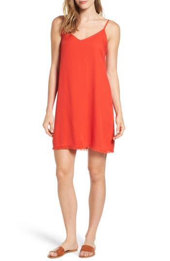 Women's Splendid Slipdress, Size Small - Coral