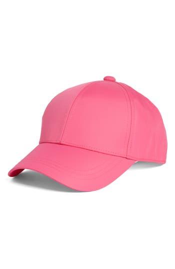 Women's August Hat Nylon Baseball Cap - Pink