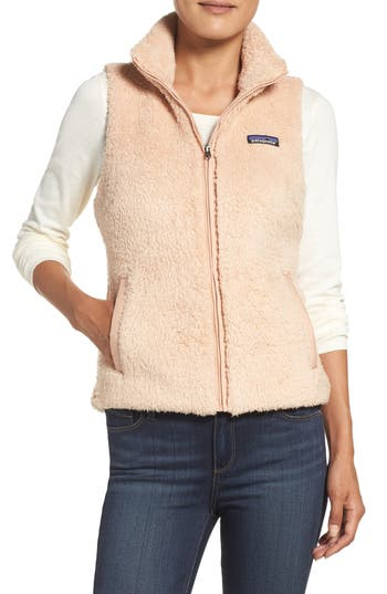 Women's Patagonia Los Gatos Fleece Vest, Size X-Large - Pink