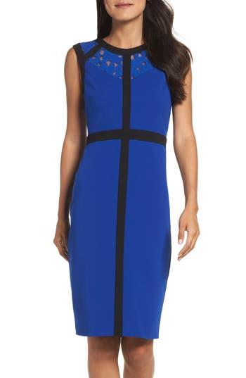 Gabby Skye Colorblock Body-Con Dress