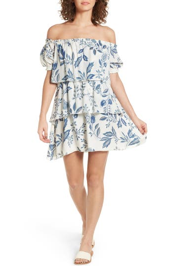 Stone Cold Fox Liberty Off The Shoulder Minidress