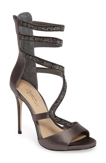 Imagine Vince Camuto Dafny Embellished Sandal- Grey