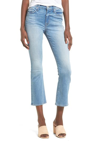 Hudson Jeans Brix High Rise Crop Jeans, Blue