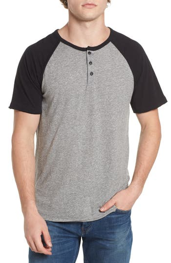 Lucky Brand Colorblock Henley T-Shirt