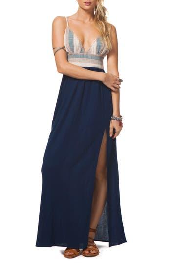 Rip Curl Beach Comber Maxi Dress, Blue