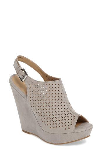 Chinese Laundry Matilda Wedge Sandal- Grey