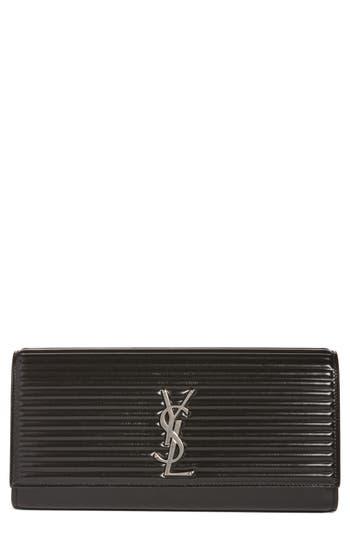 Saint Laurent Kate Opium Leather Clutch -