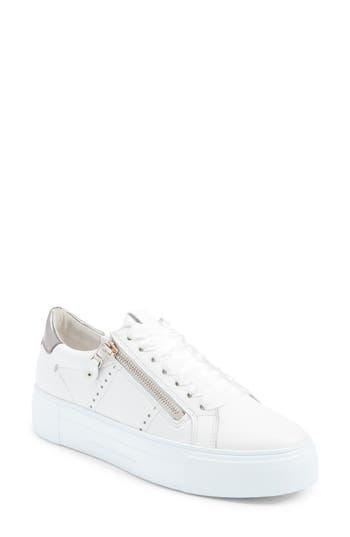 Kennel & Schmenger Big Low Top Platform Sneaker- White