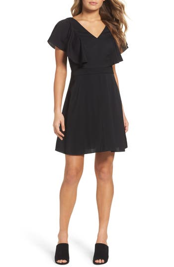 Chelsea28 Ruffle Fit & Flare Dress