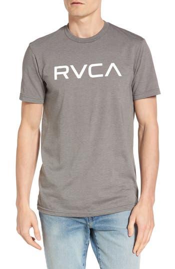 Rvca Big Rvca Graphic T-Shirt, Grey