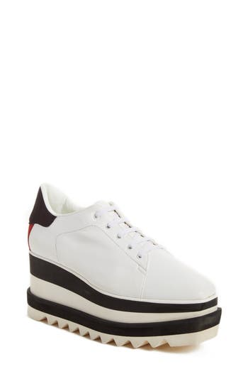 Stella McCartney Sneak-Elyse Flatform Sneaker