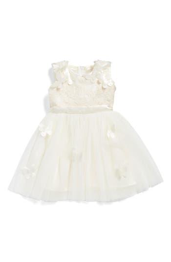 Infant Girl's Popatu Butterfly Fit & Flare Dress