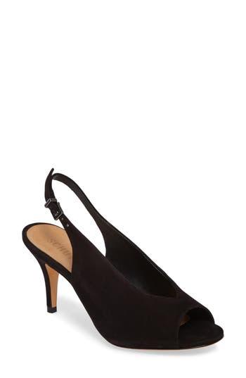 Schutz Mendy Slingback Sandal, Black
