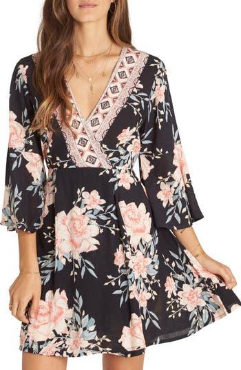 Billabong Divine Floral Dress