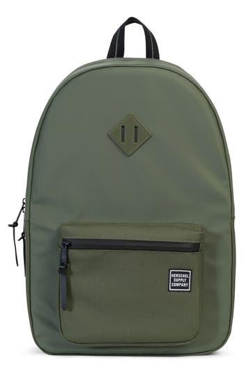 Herschel Supply Co. Ruskin Studio Collection Backpack - Green