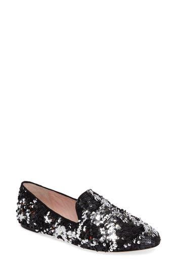 Women's Kate Spade New York Syrus Embellished Loafer, Size 9 M - Black