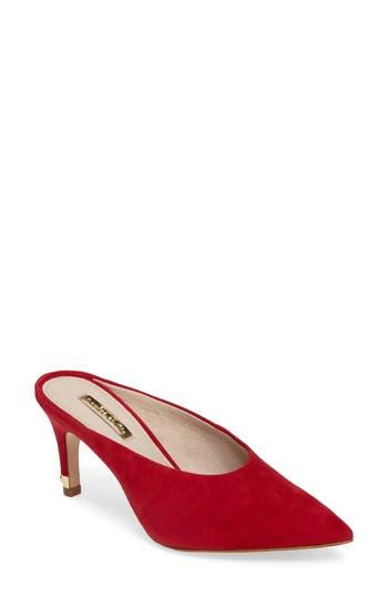 Louise Et Cie Karas Pointy Toe Slide Pump, Red