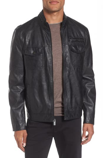 Men's Reaction Kenneth Cole Faux Leather Jacket