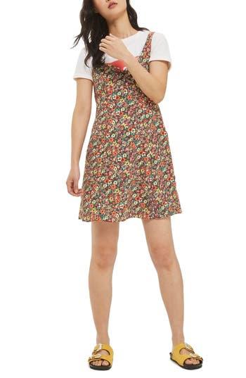 Topshop Floral Sundress, US (fits like 0) - Green
