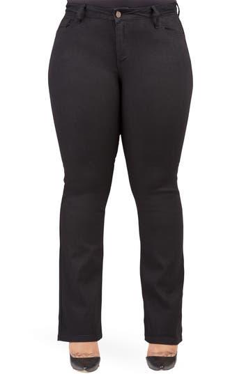 Plus Size Women's Poetic Justice Scarlett Slim Bootcut Curvy Fit Jeans