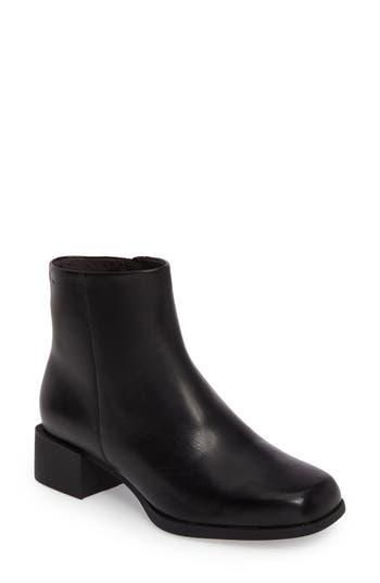 Camper Kobo Leather Boot Black