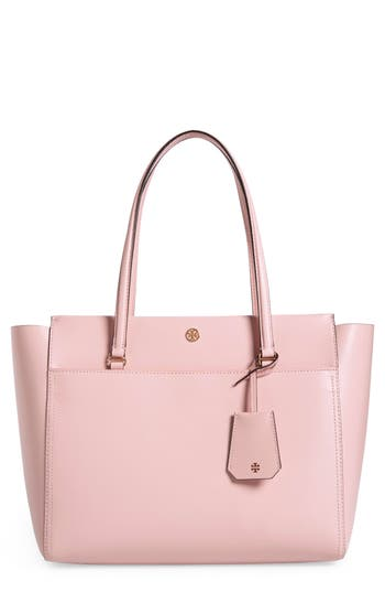 Tory Burch Parker Leather Tote - Blue